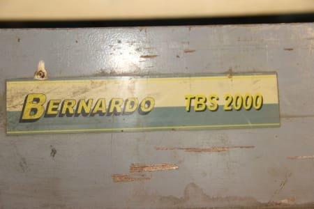 BERNARDO TBS2000 Manual Round Bending Machine