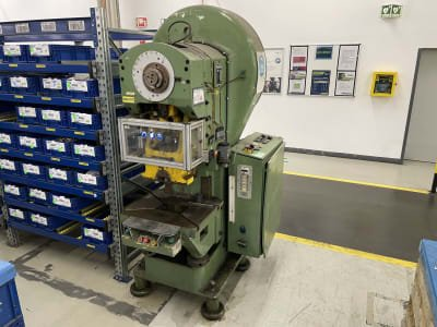 Prensa excéntrica HELMERDING EH35B 35 t