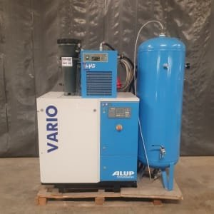 FRIUL AIR VARIO 7.5 + AMD18/AC Screw air compressor set (screw) + air dryer + cylinder