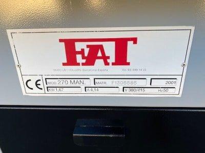 Sierra de cinta horizontal para metal FAT 270