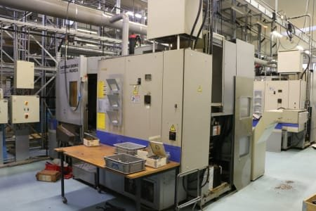 Centro de mecanizado horizontal MITSUI SEIKI HU 40 A