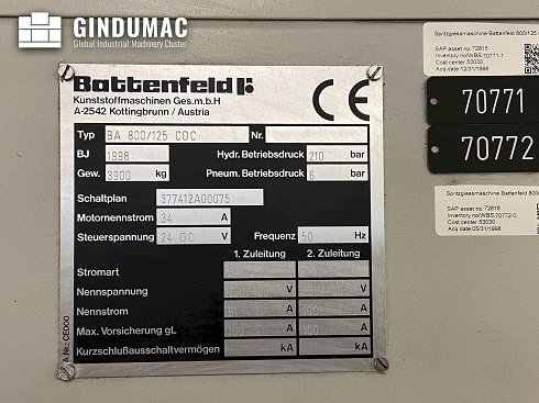 Battenfeld BA 800/125 CDC