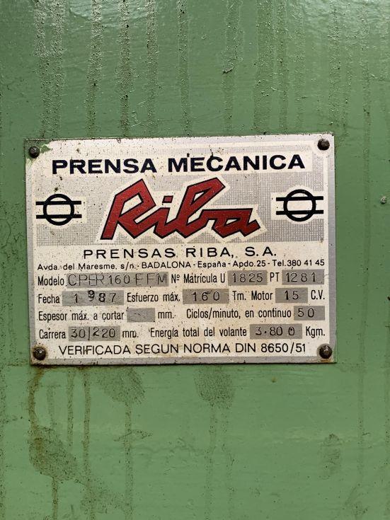 Prensa 160tn