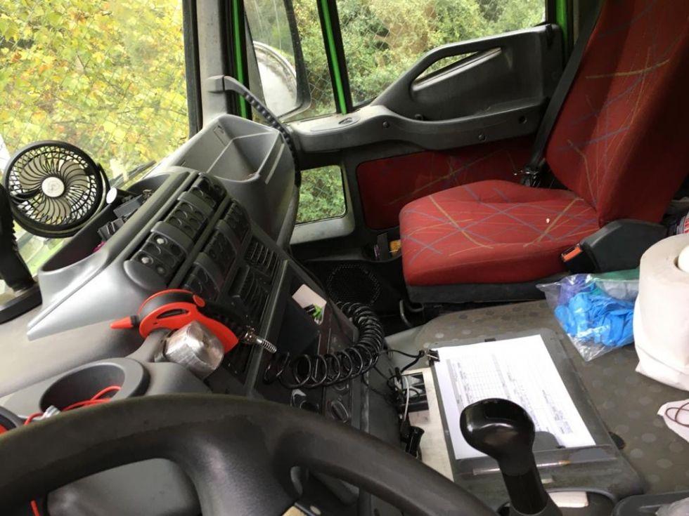Iveco trakker basculante 6x4