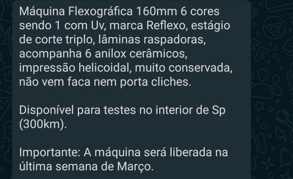 Maquina Flexografica
