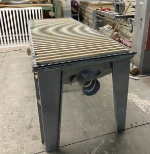 ALWO Grinding table with exhaust (2 pcs)