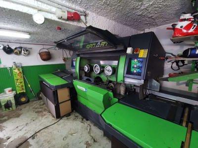 Máquina de reparación de esquís WINTERSTEIGER shuttle 200
