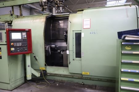 Torno CNC BOEHRINGER VDF NG 200 - Inclined Bed