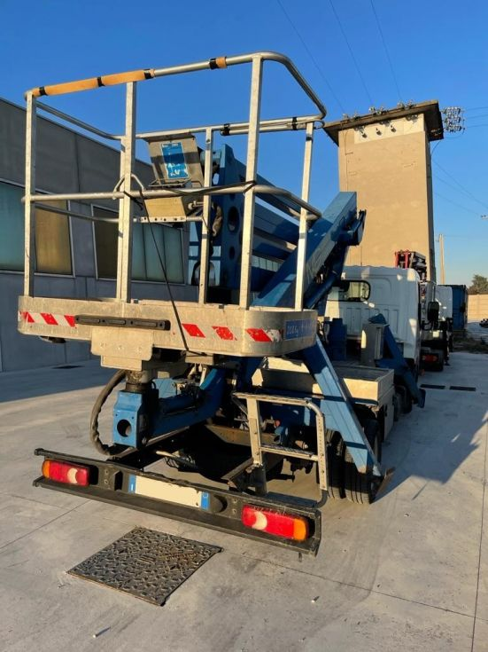Plataforma sobre camion 20Mt CTE Z 20