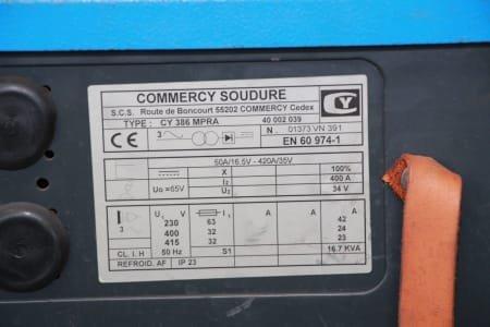 COMMERCY SOUDURE CY 386 MPRA Welder
