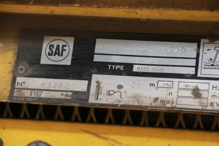 SAF 0320 0600 Welder