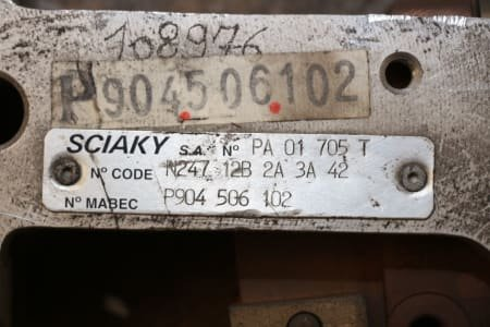 SCIAKY PA 01 075 T Point welidng clamp