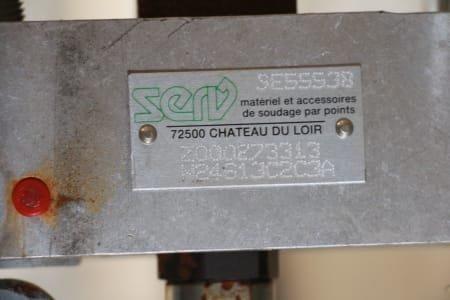 Pinzas de soldadura por puntos SERV SE55538