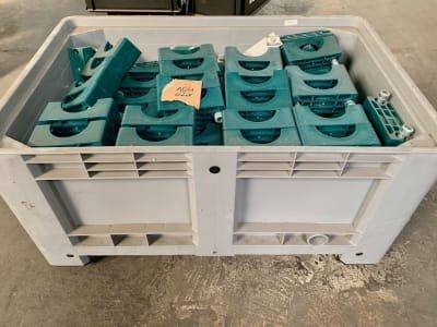 STAUFF Gr.8 Lot of clamp body standard series Polypropylene