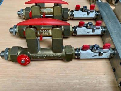 2.232.262.000 12x balancing valve Tacosetter Bypass 100, DN 15 (1/2') IG 2-8l/min