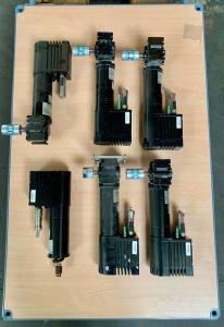 LENZE SDSGSSR047-22 6x gear motor
