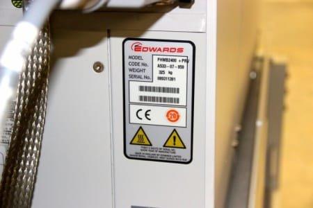 EDWARDS PHMB2400 + PRV BOC EDWARDS PHMB2400 + PRV vacuum pump