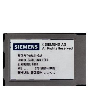 SIEMENS 6FC5250-6AY30-5AH0 CNC Software