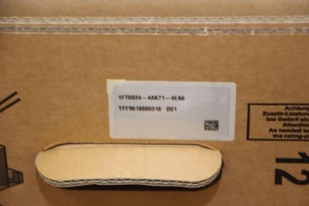 SIEMENS 1FT6034-4AK71-4EA6 Motors (x3)