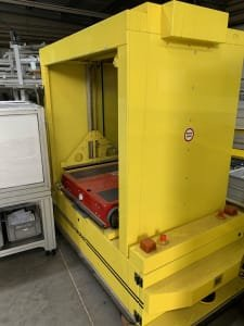 PSB INTRALOGISTICS GMBH CAR 809 carobot driverless transport system for trays