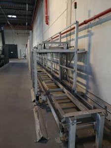 Jaula de almacenaje / estación de paletizado de 2 pisos y 27 metros PSB INTRALOGISTICS GMBH