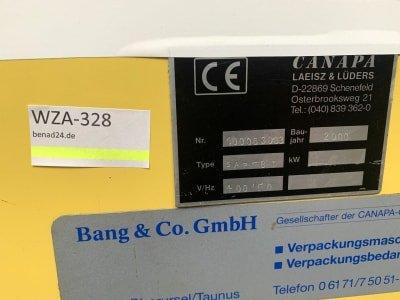 CANAPA SAP-8T Unripening machine bandaging machine