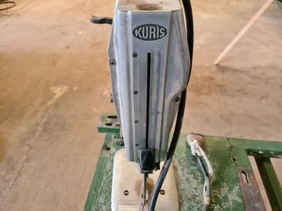 KURIS KV 2000 Table with 2 cutting devices