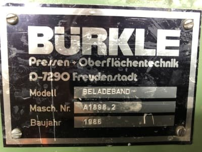BÜRKLE Loading Belt