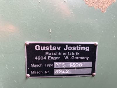 Cizalladora para chapa JOSTING PFS 1300
