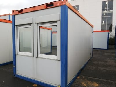 Container - Half Shell 20'