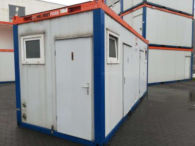Sanitary Container 20' - defect