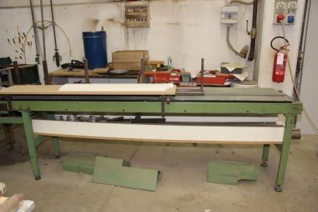 DUSPOHL Profile Wrapper Machine for Coating Profiles