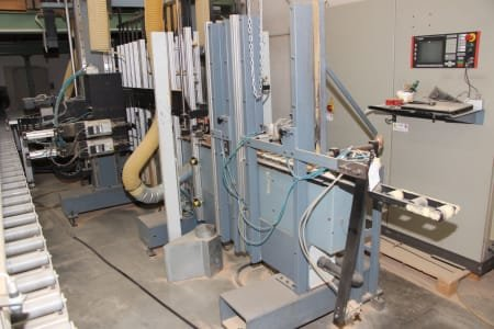 QUADRIO RQ V Machine for Drilling and Routing Profiles