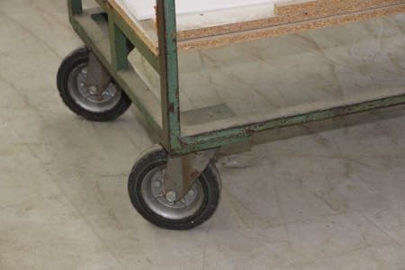 Lot of Trolleys with Wheels