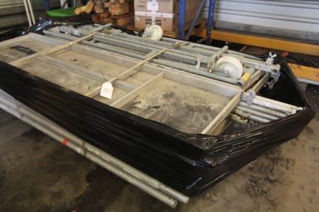 MÜBA 150/6 Mobile Aluminium Scaffold - defect