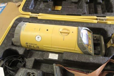 TOPCON TP-L 4 Sewer construction laser