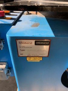 WOLTERS K3 R50-GR-PL Single disc lapping machine
