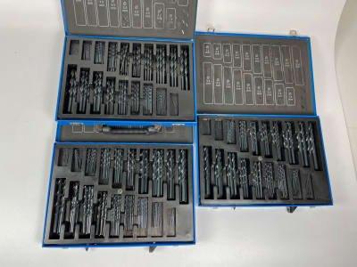 3x HSS twist drills 170 pcs. Magazine (NEW)