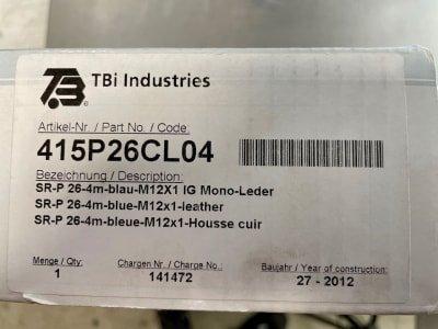 TBI 415P26CL04 TIG welding torch TBi SR 26 air 4m (NEW)