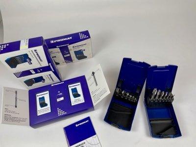 PROMAT 3x taps + countersink (NEW)