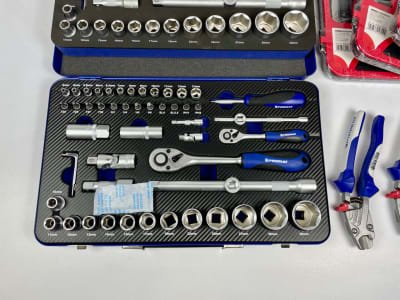 PROMAT Hand tools, socket wrenches (NEW)