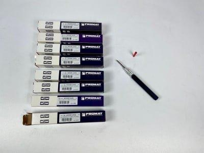 PROMAT 4000812459 Lot (8x) VHM deburring tool (NEW)