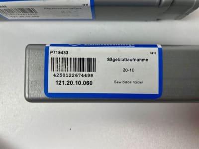 EROGLU 121.20.10.060 5x saw blade holders 20-10 (NEW)