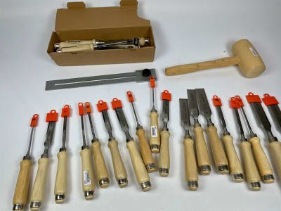 SILBER SPEER Lot of chisels (NEW)