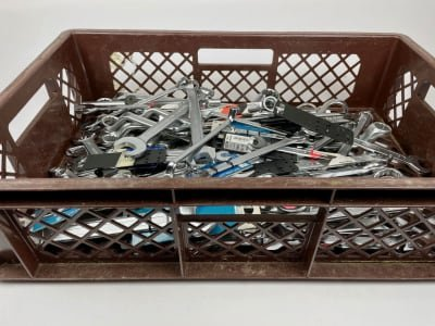 Lot of open-ended and ring spanners (NEW)