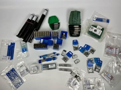 Lot of tools for metalworking