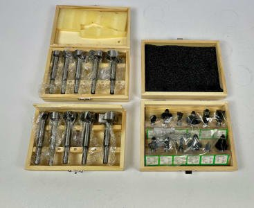 Forstner bits and wood milling cutters (NEW)