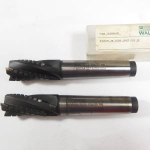 WALTER Werkzeug Lot of HM milling cutters and HSSE milling cutters, 12 pcs.