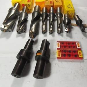 SANDVIK Werkzeug Lot of inserts full drill + inserts