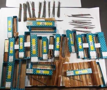 VALLORBE Werkzeug 200+ new precision riffled files